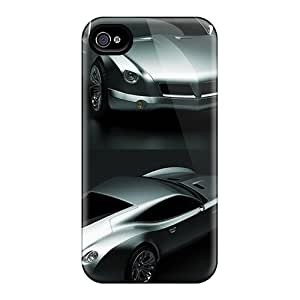 New Premium KRk17437ybJW Case Cover For Iphone 4/4s/ Peregrine V2 Concept Car Protective Case Cover