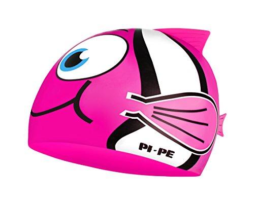 PI-PE Kinder Badekappe Fishy, Pink, One size, PBF-1-P