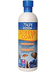 API Stress Coat Water Conditioner, Makes tap Water Safe, Replaces fish's Protective Coat Damaged by handling or Fish Fighting, Use When Adding or Changing Water, Adding Fish and When Fish are Injured