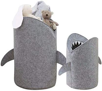GYK Boutique Linda Canasta de Almacenamiento con Forma de tibur/ón s