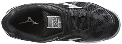 Mizuno Shoe Wave Silver Black Hurricane Sl Bk Women's Woms Volleyball r1qx0Or