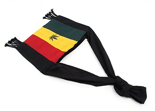 Cross Shoulder Sling body Cotton Bag Rasta YwZ1t