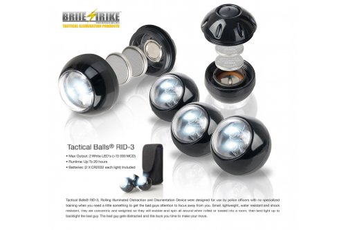Brite Strike RID-3 Tactical Balls, 3-Pack