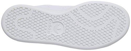 adidas Stan Smith Cf - Zapatillas Unisex Niños Blanco (Ftwbla / Ftwbla / Eqtazu)