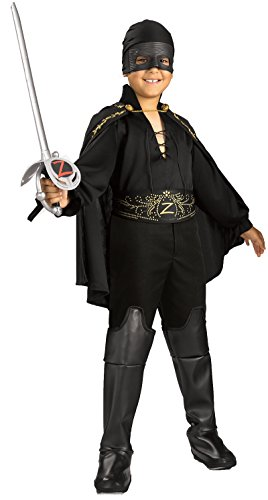 Kids Zorro Costumes (Zorro Child's Zorro Costume, Medium)