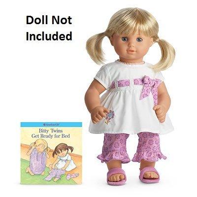 American Girl Bitty Twin Blossom Doll PJs