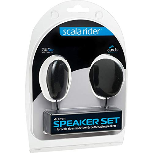 Cardo System Inc 40mm Speaker Kit for All Communication System Helmet Accessories