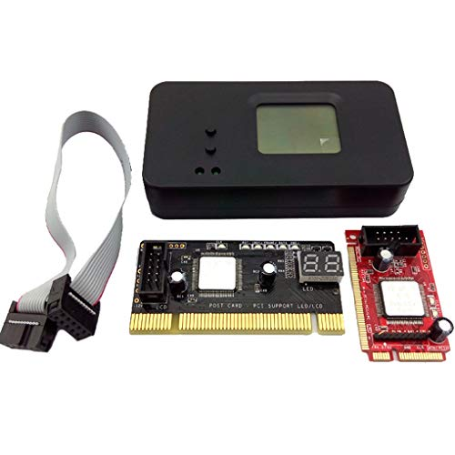 Topker 4PCS/Set 4-in-1 PCI/Mini PCI/Mini PCI-E/LPC Desktop Laptop LCD Analyzer Debug Test Post Card