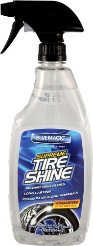 Blue Magic 685-06PK Supreme Tire Shine – 23 oz. Trigger Spray, (Pack of 6)
