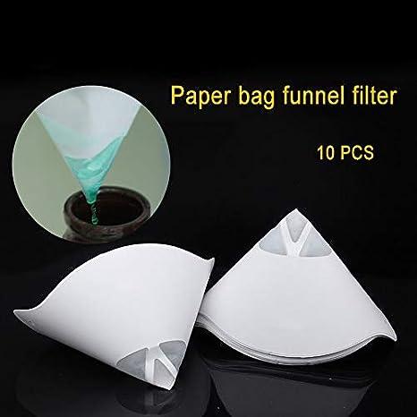 Dovlen 10Pcs Desechable Espesar Papel Filtro Embudo para Photon ...