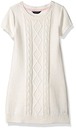 cable knit tiered sweater dress - 3