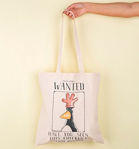 Wallace Feathers Tote Gromit Poster Wanted Bag and McGraw r6fEwrq