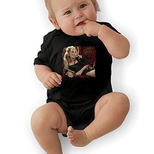 JosephG Infant Diana Krall Glad Rag Doll Bodysuit Outfits Black - Doll Rag Infant Bodysuit