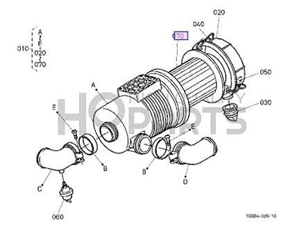 Kubotum Fuel Filter
