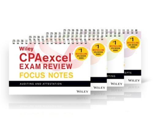 Wiley CPAexcel Exam Review January 2017 Focus Notes:
