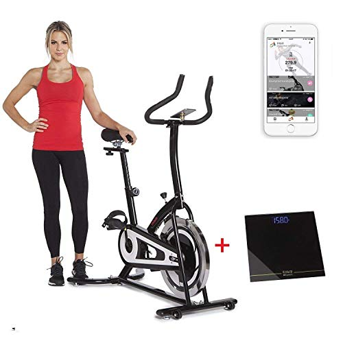 Smart Trainer Cycling Amazon Com: Fitbill Smart Indoor Cycle Bike With Bluetooth Scale