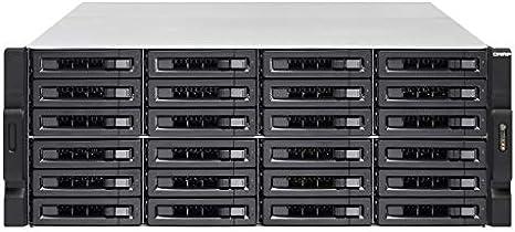 QNAP TVS-2472XU-RP Ethernet Bastidor (4U) Negro NAS - Unidad Raid ...