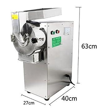 baoshishan hogar molinillo de especias eléctrico 3000 W acero inoxidable máquina para moler café, especias, pimienta, Bean finura picadora: Amazon.es: Hogar