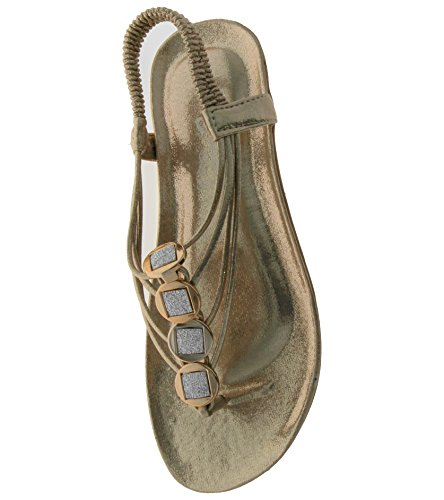 Donna Ragazza' da Gold Footwear Sandali Foster qS4600