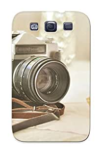 MuYqqMi4236FMNku Catenaryoi Zenite Camera And A Cupcake Durable Galaxy S3 Tpu Flexible Soft Case With Design