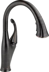 Delta 9192-RB-DST Addison Single Handle Pull-Down Kitchen Faucet, Venetian Bronze