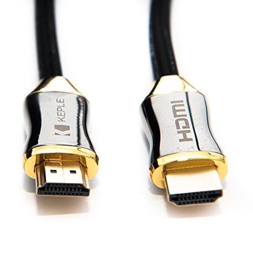BenQ XL2720Z Monitor 2m / 6.5ft Premium HDMI to HDMI Cable Lead by Keple | High Speed, Gold Plated, 3D, Supports Ethernet, Audio Return