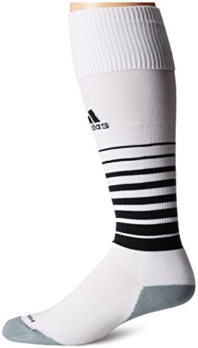 adidas Team Speed Soccer Sock, White/Black, Medium (Adidas Football Socks compare prices)