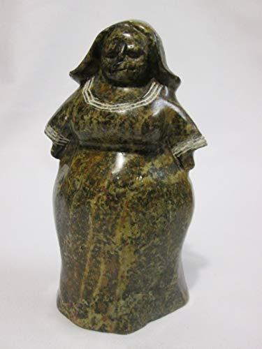 (Shona Art Stone Sculpture, African Village Lady )