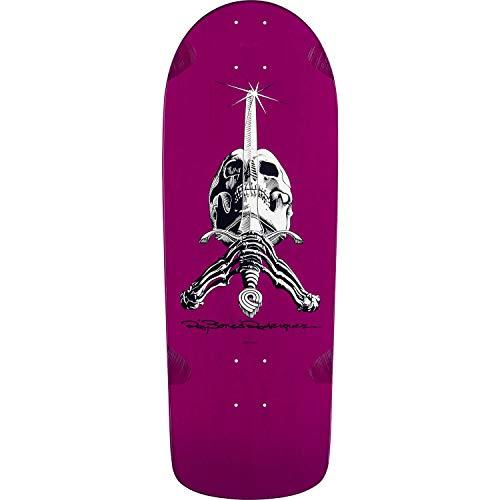 インフルエンザチャネルスキャンダラスPowell Peralta Ray Rodriguez Skull & Sword og SnubパープルOld Schoolスケートボードデッキ – 10