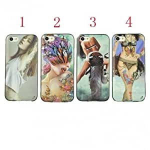 Sexy Style Design TPU Protector Case Cover For iPhone 5 5S --- NO.:2