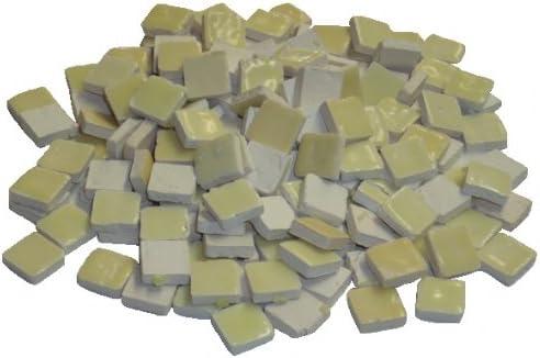 Mosaix 10/x 10/x 3/mm 70/g Maxi 150/pi/èces en c/éramique /émaill/ée mosa/ïque Ivoire carrelage