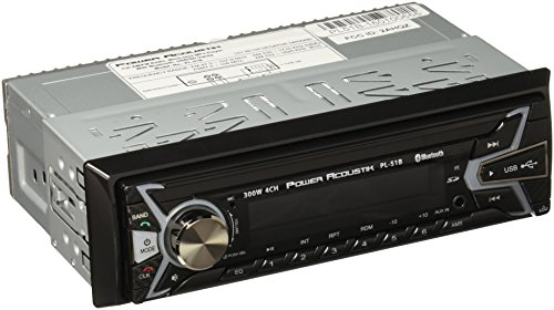 Power Acoustik PL-51B 1-DIN Digital Audio Head Unit with 32GB USB/SD/AUX/Bluetooth by Power Acoustik