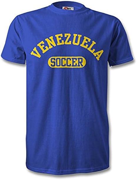 MDMWH Venezuela Camiseta de fútbol Royal/Amarillo Azul Azul Cobalto XX-Large: Amazon.es: Ropa y accesorios