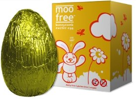 Moo free dairy free bunnycomb easter egg amazon grocery moo free dairy free bunnycomb easter egg negle Image collections