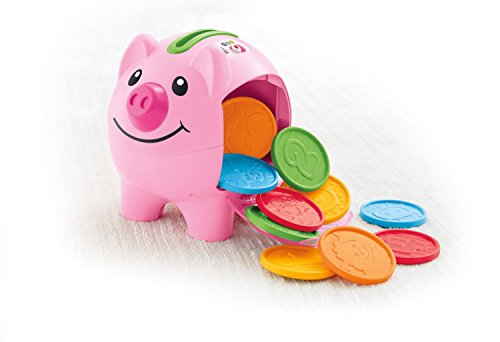41kKmett0lL - Fisher-Price Laugh & Learn Smart Stages Piggy Bank [Amazon Exclusive]