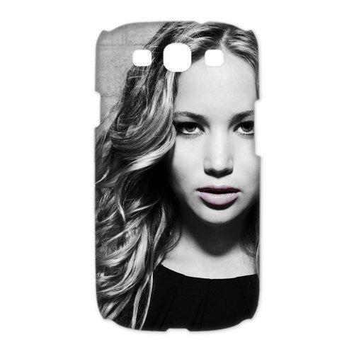 CTSLR Jennifer Lawrence Hard Case Cover Skin for Samsung Galaxy S3 I9300-1 Pack -4