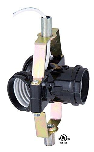 Base 3 Light - B&P Lamp 3 Socket Edison Base Socket Cluster