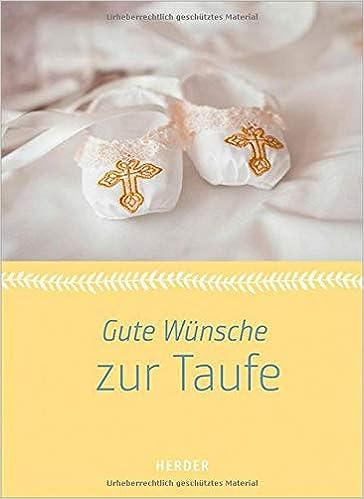 Gute Wünsche Zur Taufe 9783451381317 Amazoncom Books