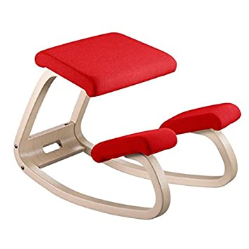 Varier Furniture, Sedia ergonomica Variable legno naturale + tessuto ...