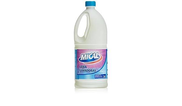 Mical - Lejía Lavadoras - 2 L - [Pack de 6]: Amazon.es: Salud y ...
