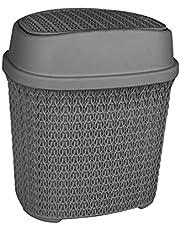 El Helal & El Negma Turt Swing Trash Bin - Grey