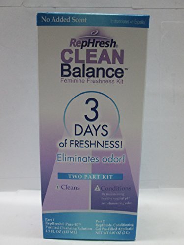 Rephresh Rephresh Clean Balance Feminine Freshness Kit, each (Pack of 3) by Rephresh