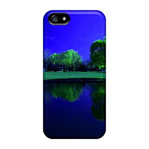 Cases For Iphone 5/5s With River Reflection
