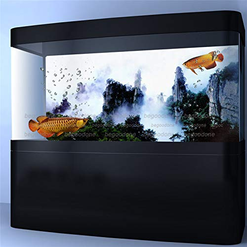 36\ FidgetGear HD Aquarium Background Poster Movie Mountain View Fish Tank Wall Decorations 36  x 24   91 x 61cm