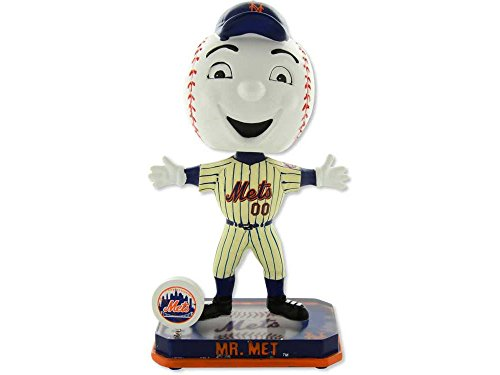 MLB New York Mets 2014 Mascot Springy Logo Base Mr. Met