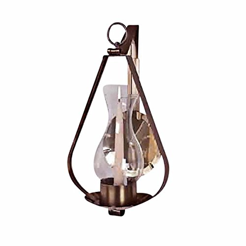 (Sconce Solid Brass Candle Wall Sconce 16
