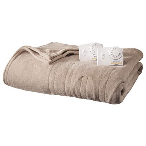 Biddeford 2034-903291-701 MicroPlush Electric Heated Blanket