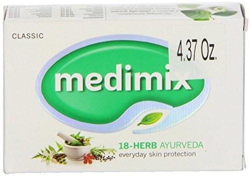 Medimix Ayurvédique Herbes Savon Avec 18 Plantes 125G Unité -Pack De 12