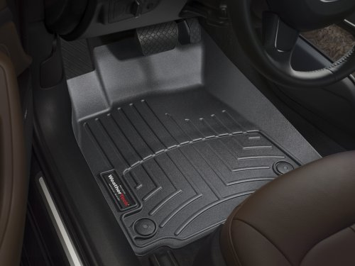 WeatherTech Custom Fit Front FloorLiner for Lexus RX350/RX450H (Black)