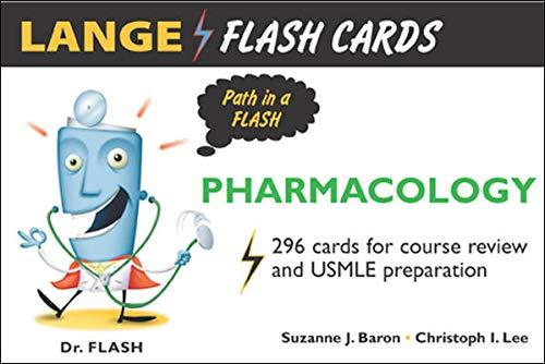 Lange Flash Cards Pharmacology